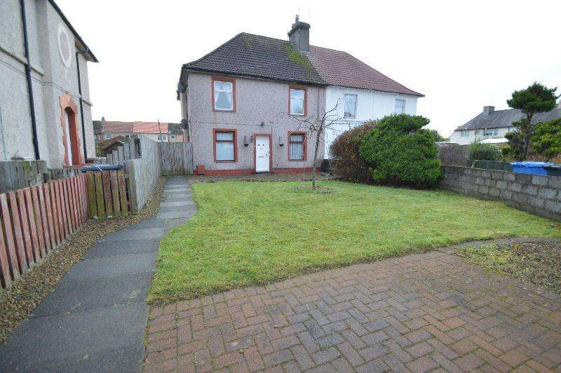 2 Bedrooms Flat for sale in Western Crescent, Kilbirnie, North Ayrshire, KA25 6JE