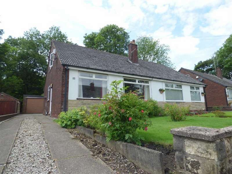 2 Bedrooms Semi Detached Bungalow for sale in Nordek Drive, Royton, Oldham, OL2