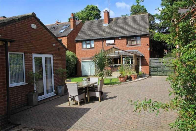 4 Bedrooms Detached House for sale in Belvoir Drive, Old Aylestone, Leicester