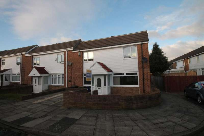 2 Bedrooms End Of Terrace House for sale in Lobelia Close, Ormesby