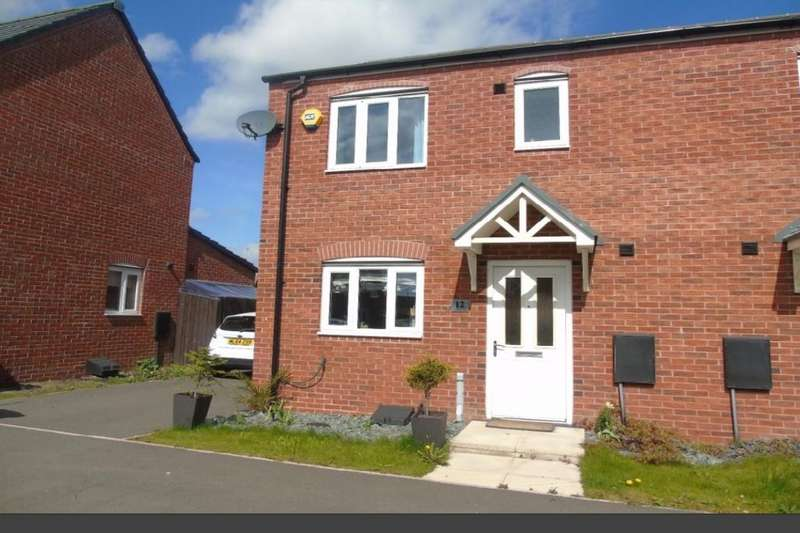 3 Bedrooms Semi Detached House for sale in Kenneth Close, Prescot, L34