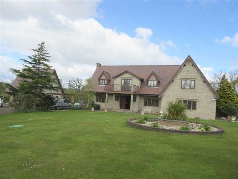 5 Bedrooms Detached House for sale in Cwttir Lane, St Asaph, Denbighshire