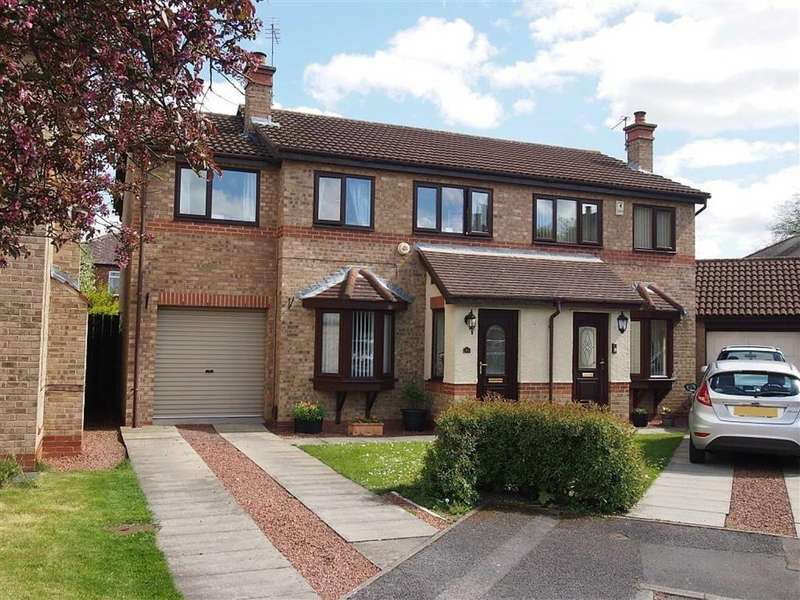4 Bedrooms Semi Detached House for sale in Westerhope Court, Darlington