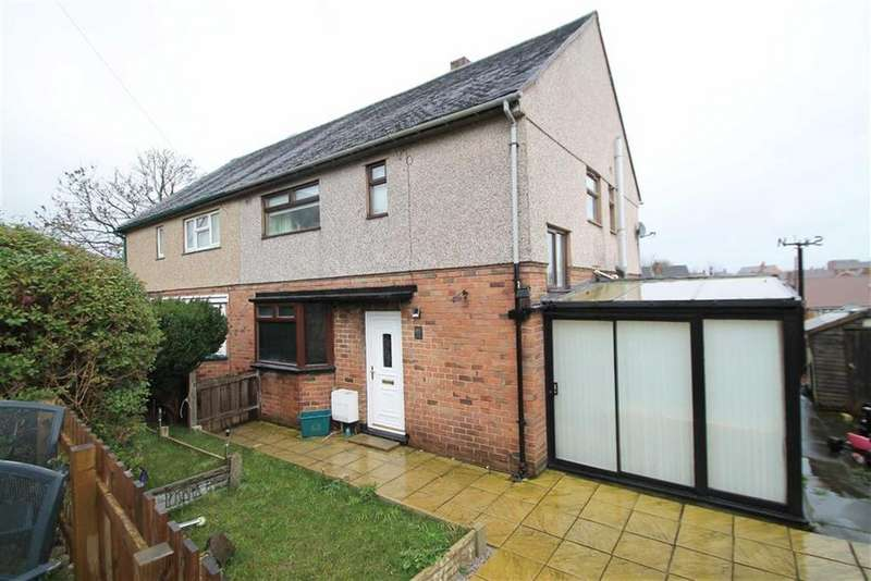 3 Bedrooms Semi Detached House for sale in Maes Glan, Rhos, Wrexham