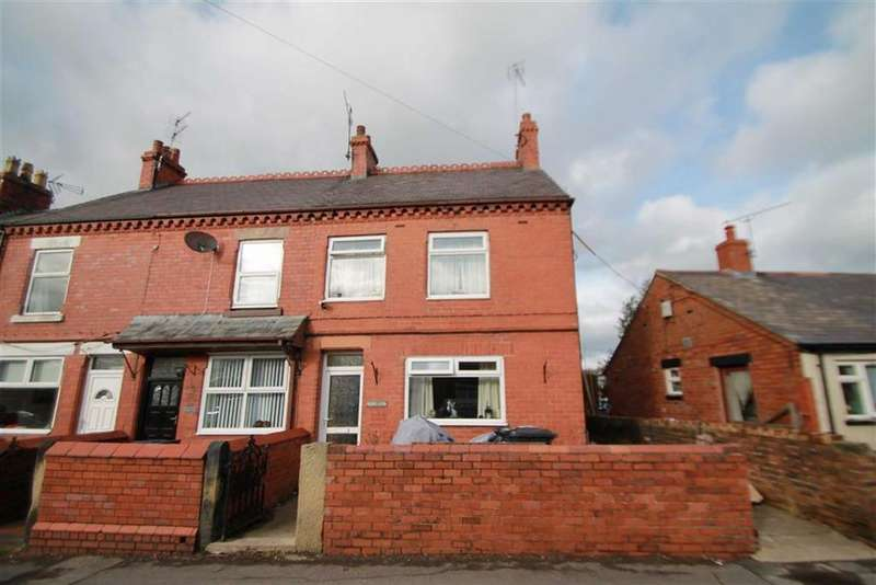 2 Bedrooms End Of Terrace House for sale in Chapel Street, Penycae, Wrexham