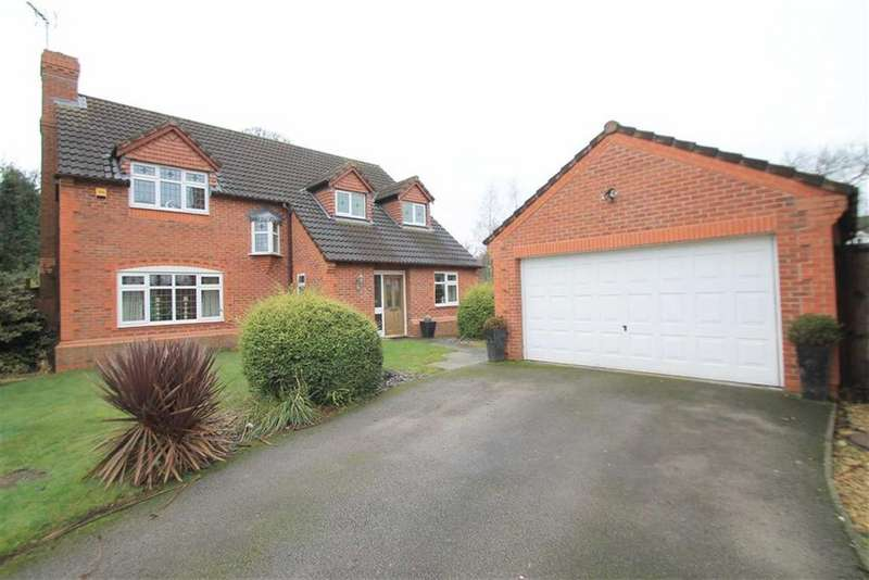 4 Bedrooms Detached House for sale in Muirfield Close, The Fairways, Wrexham