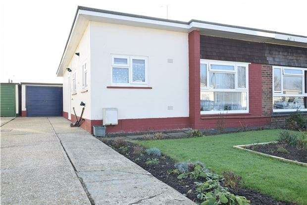 2 Bedrooms Semi Detached Bungalow for sale in Mountney Drive, Pevensey Bay, PEVENSEY, East Sussex, BN24 6SH