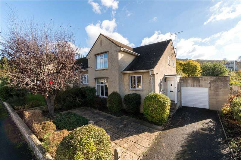 3 Bedrooms Semi Detached House for sale in St Christopher's Close, Bath, BA2