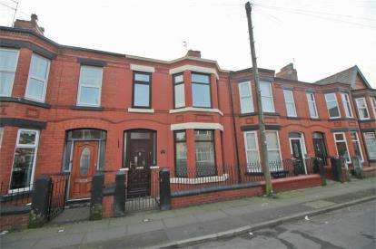 3 Bedrooms Terraced House for sale in Milton Road, Merseyside, Liverpool, Merseyside, L22