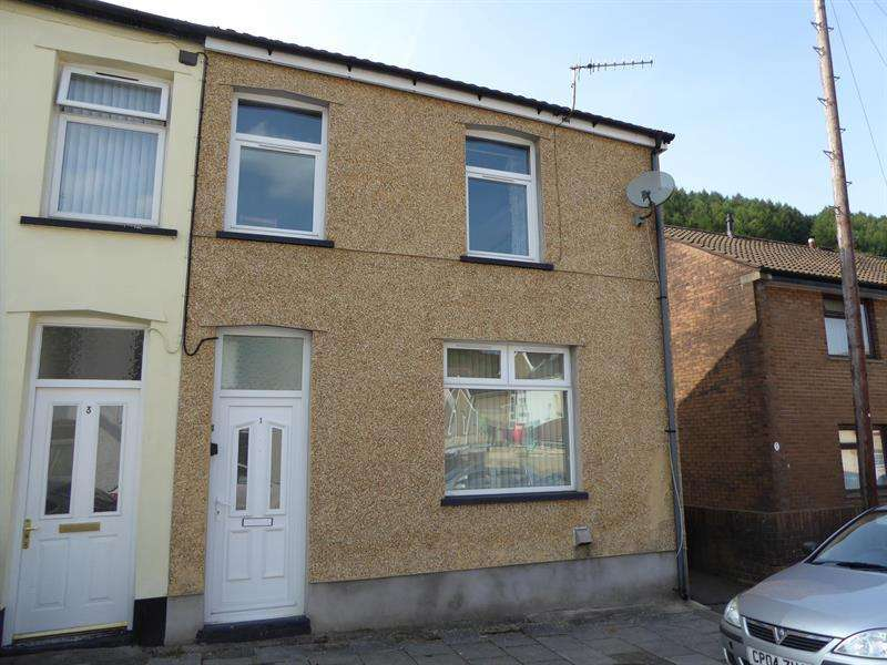 3 Bedrooms End Of Terrace House for sale in Thomas Street, Llanbradach, Caerphilly