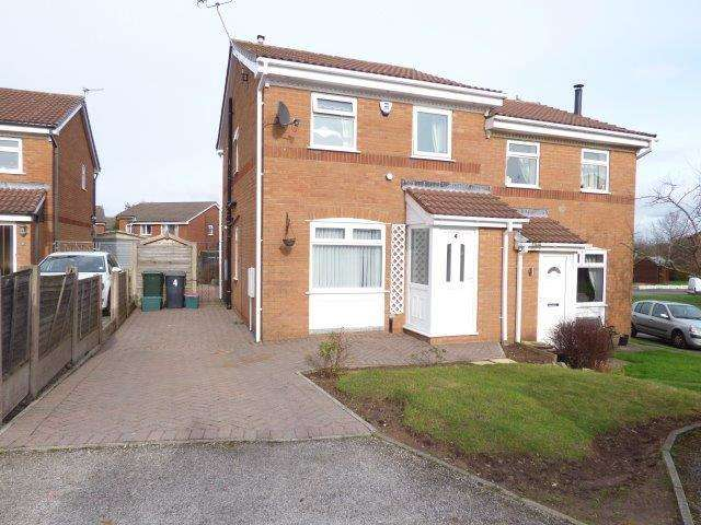 2 Bedrooms Semi Detached House for sale in Eastlands, Heysham, Lancashire, LA3 2HT