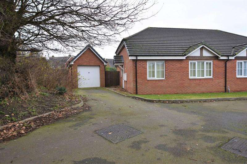 2 Bedrooms Semi Detached Bungalow for sale in Hanover Gardens, Oldbury
