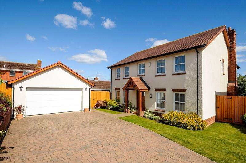 4 Bedrooms Detached House for sale in Great Park Close, Bishopsteignton, Teignmouth