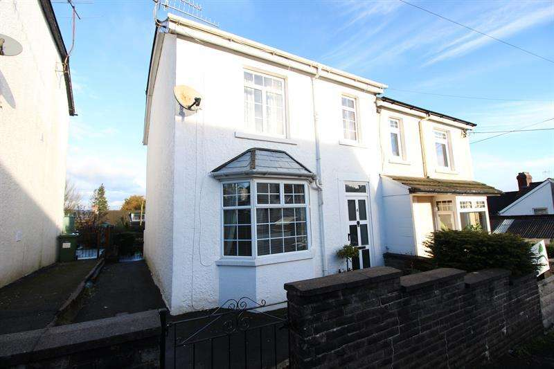 3 Bedrooms Semi Detached House for sale in Corbett Crescent, Caerphilly
