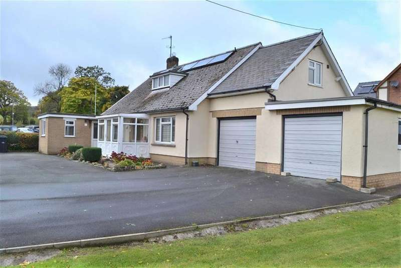 4 Bedrooms Detached Bungalow for sale in Llwyn Onn, Carno, Caersws, Powys, SY17