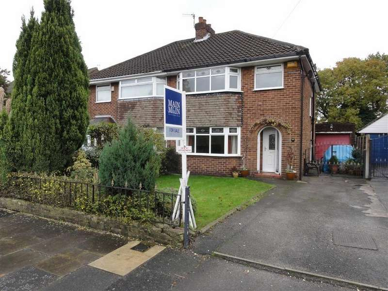 3 Bedrooms Semi Detached House for sale in Thornton Road, Heald Green