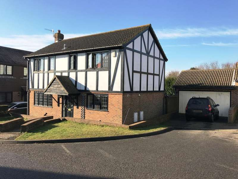 4 Bedrooms Detached House for sale in Shannon Close, Telscombe Cliffs BN10