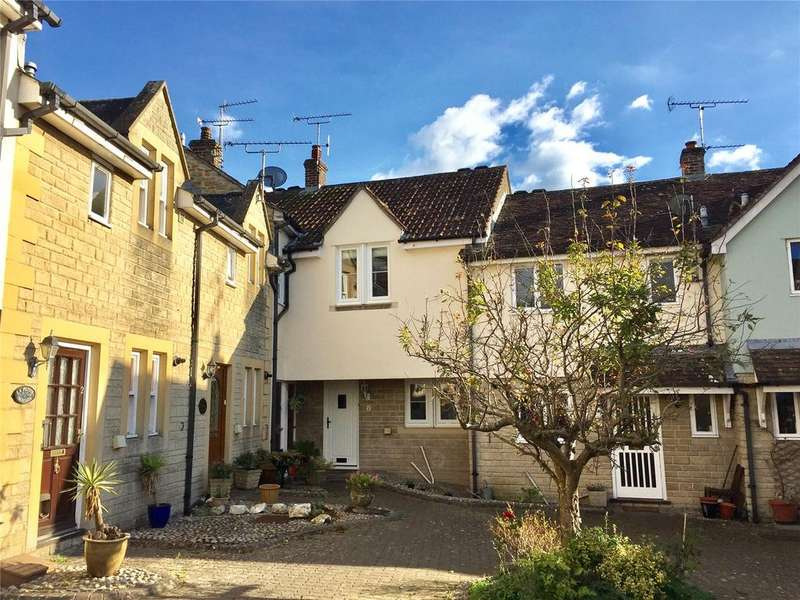2 Bedrooms Terraced House for sale in Wessex Court, Digby Road, Sherborne, Dorset