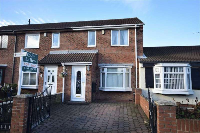3 Bedrooms Terraced House for sale in Fraser Close, South Shields