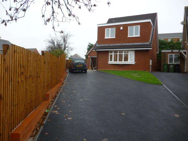 3 Bedrooms Detached House for sale in COXCROFT AVENUE, QUARRY BANK, BRIERLEY HILL DY5