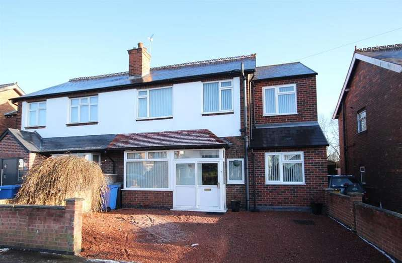 4 Bedrooms Semi Detached House for sale in Western Road, Mickleover, Derby