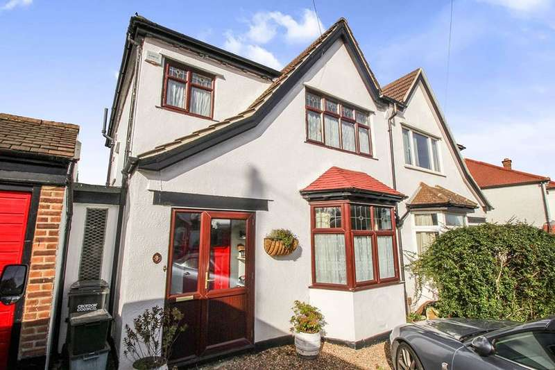3 Bedrooms Semi Detached House for sale in Convent Hill, London, SE19