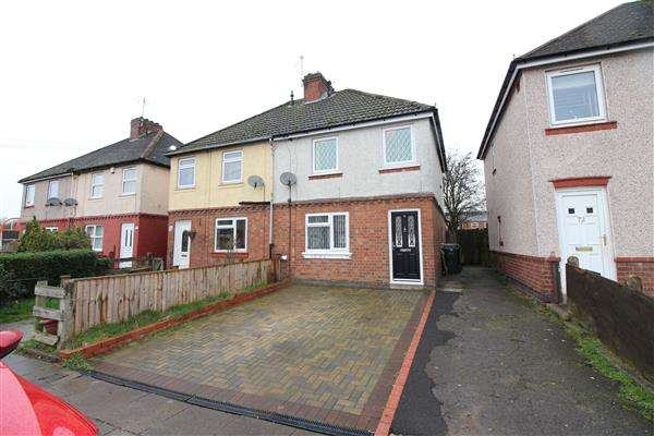 3 Bedrooms Semi Detached House for sale in Queen Margarets Road, Canley, Coventry