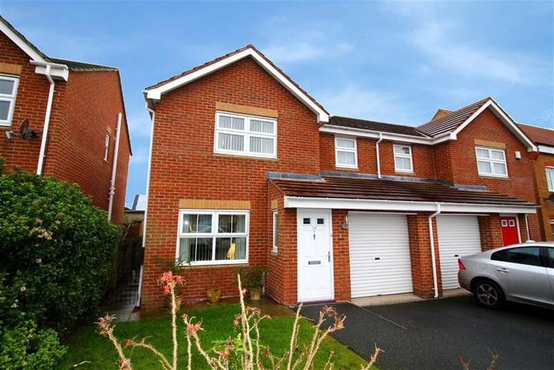 3 Bedrooms Semi Detached House for sale in Heather Lea, Blyth