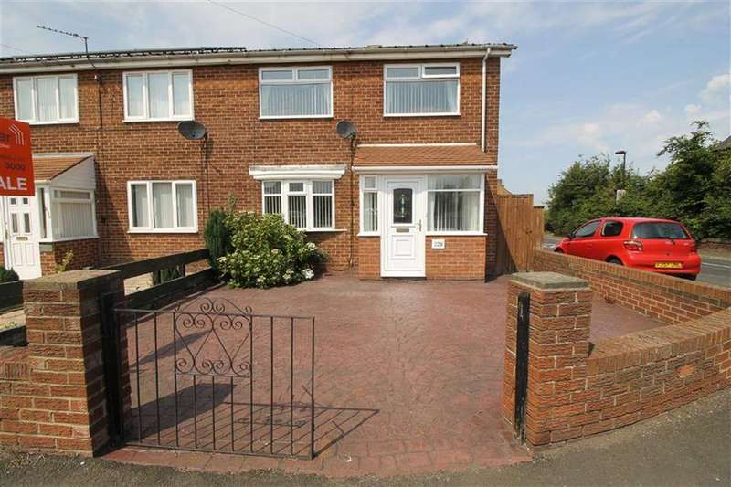 2 Bedrooms End Of Terrace House for sale in New York Road, North Shields