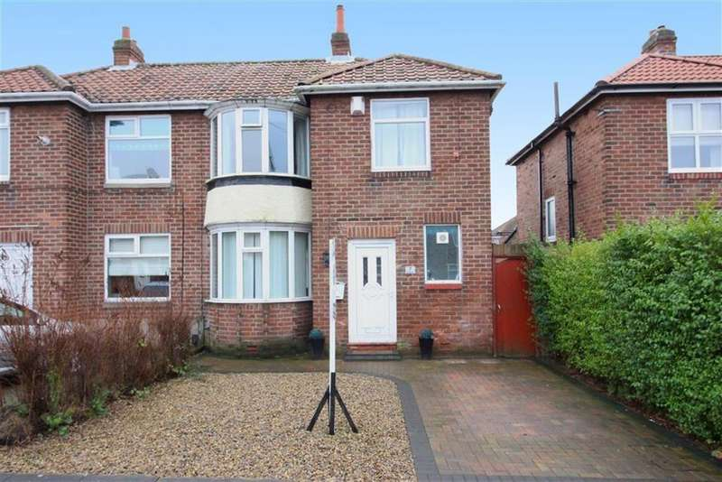 3 Bedrooms Semi Detached House for sale in Heathwell Road, Newcastle Upon Tyne, NE15