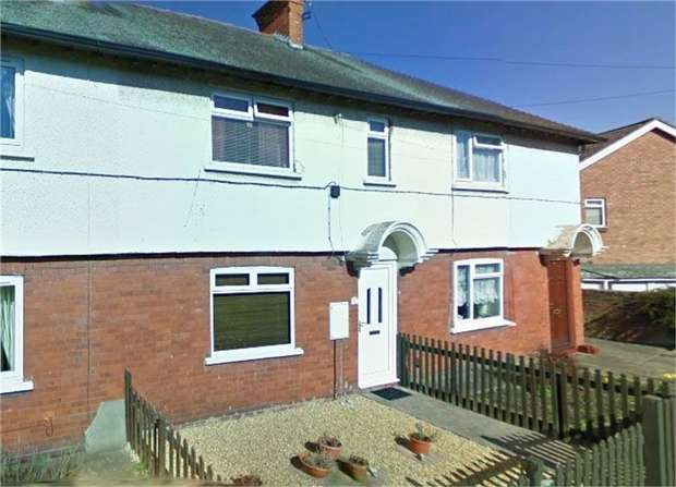 2 Bedrooms Terraced House for sale in Red Bank Lane, Market Drayton, Shropshire