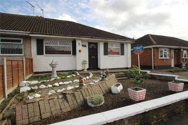 2 Bedrooms Semi Detached Bungalow for sale in Robert Road, Exhall, Coventry