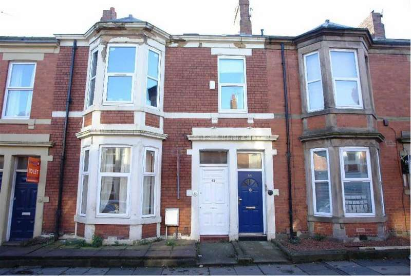 3 Bedrooms Flat for sale in Forsyth Road, Newcastle Upon Tyne, NE2