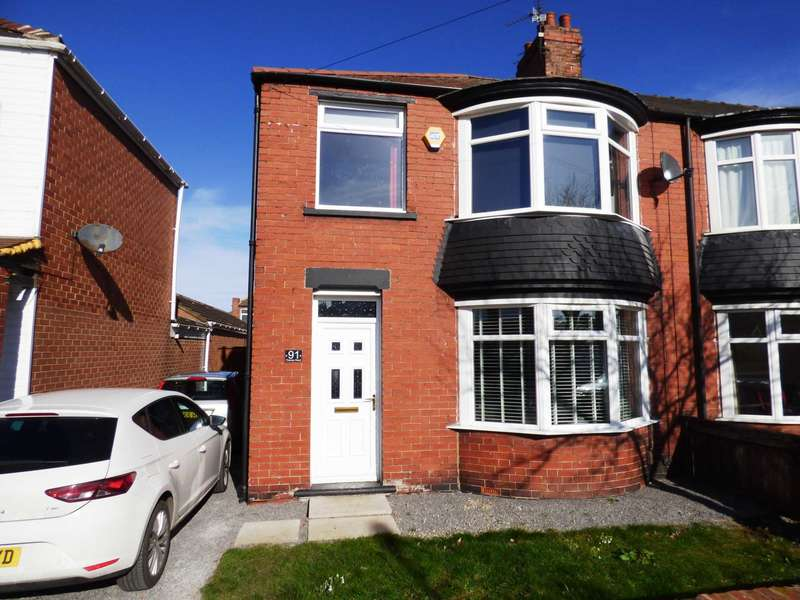 3 Bedrooms End Of Terrace House for sale in Thames Road, Redcar