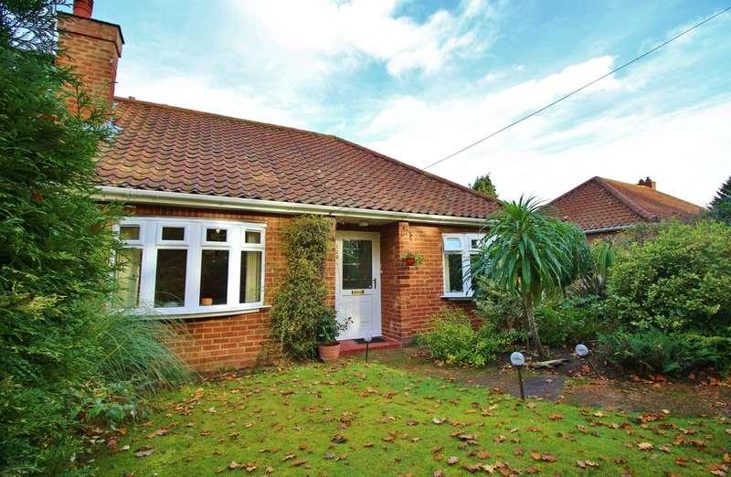 3 Bedrooms Semi Detached Bungalow for sale in Fakenham Road, Taverham, Norwich