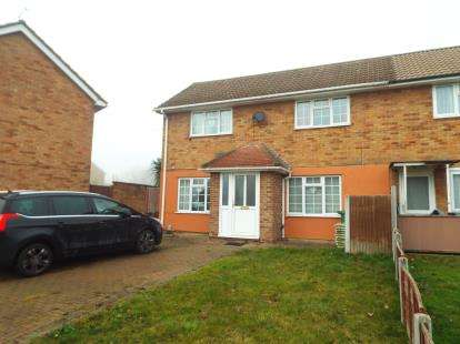 4 Bedrooms End Of Terrace House for sale in Fryerns, Basildon, Essx