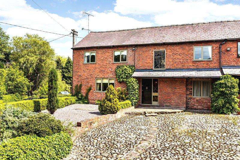 4 Bedrooms Barn Conversion Character Property for sale in Tilston, Malpas, Cheshire