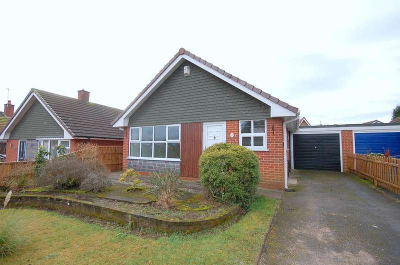 2 Bedrooms Detached Bungalow for sale in Russell Avenue, Alsager