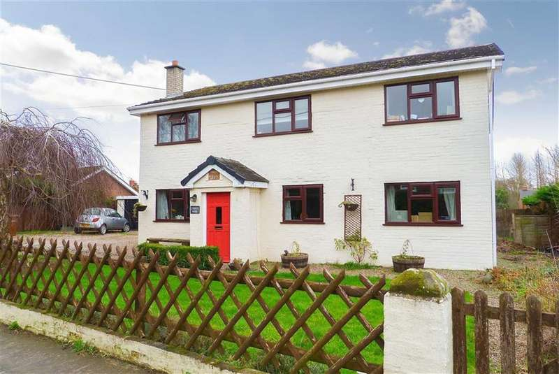 4 Bedrooms Detached House for sale in Kinnerley, Oswestry, SY10