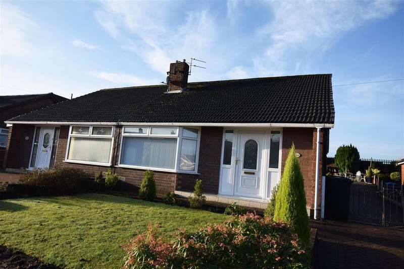2 Bedrooms Semi Detached Bungalow for sale in Mount Road, Alkrington, Middleton
