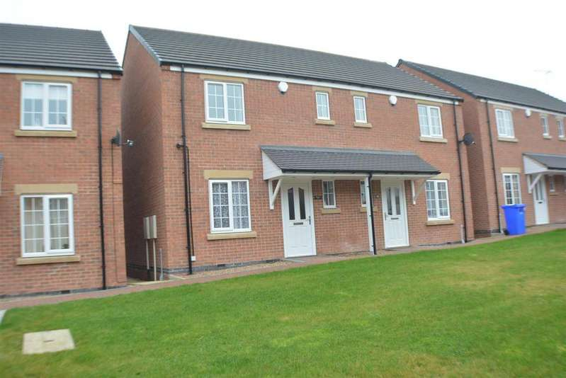 2 Bedrooms Semi Detached House for sale in Littleworth, Mansfield