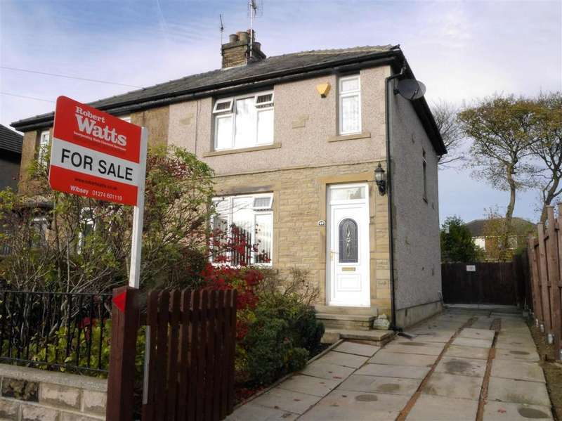 2 Bedrooms Semi Detached House for sale in Westbury Road, Wibsey,Bradford, BD6 3NQ