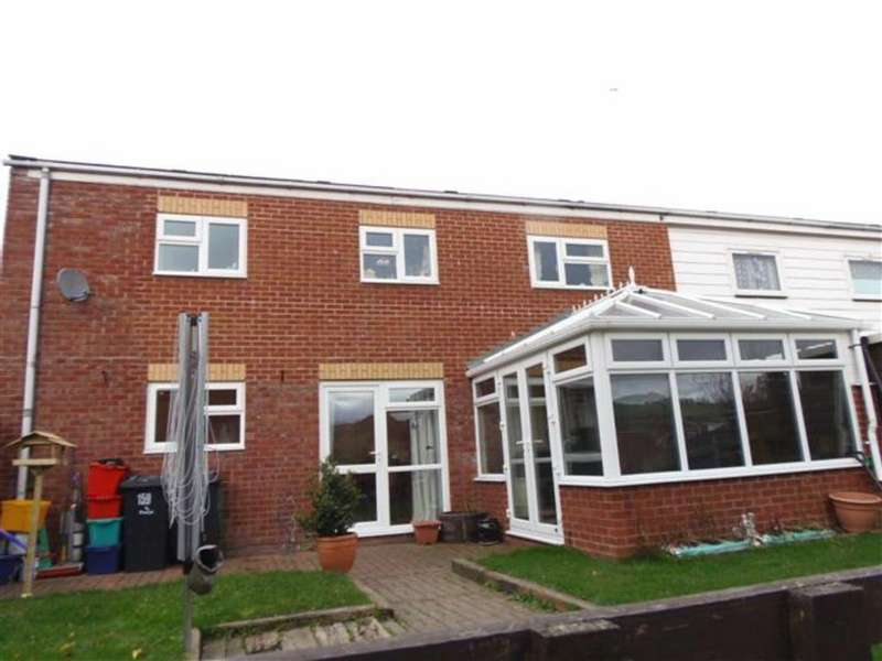 3 Bedrooms Semi Detached House for sale in 159, Lon Gwern, Trehafren, Newtown, Powys, SY16