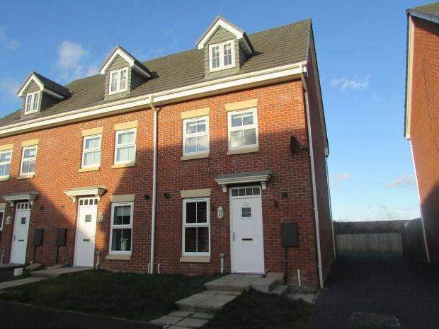 3 Bedrooms Terraced House for sale in THE SIDINGS, BLACKHALL, HARTLEPOOL AREA VILLAGES
