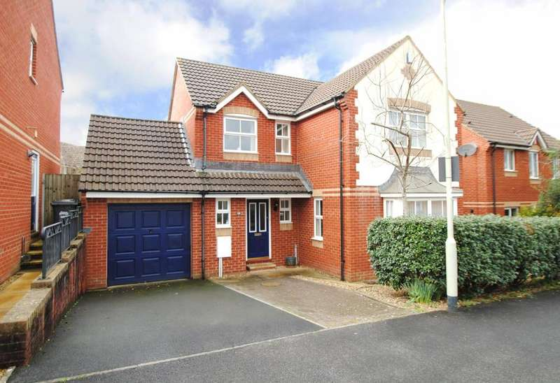 4 Bedrooms Detached House for sale in Fallow Fields, Barnstaple