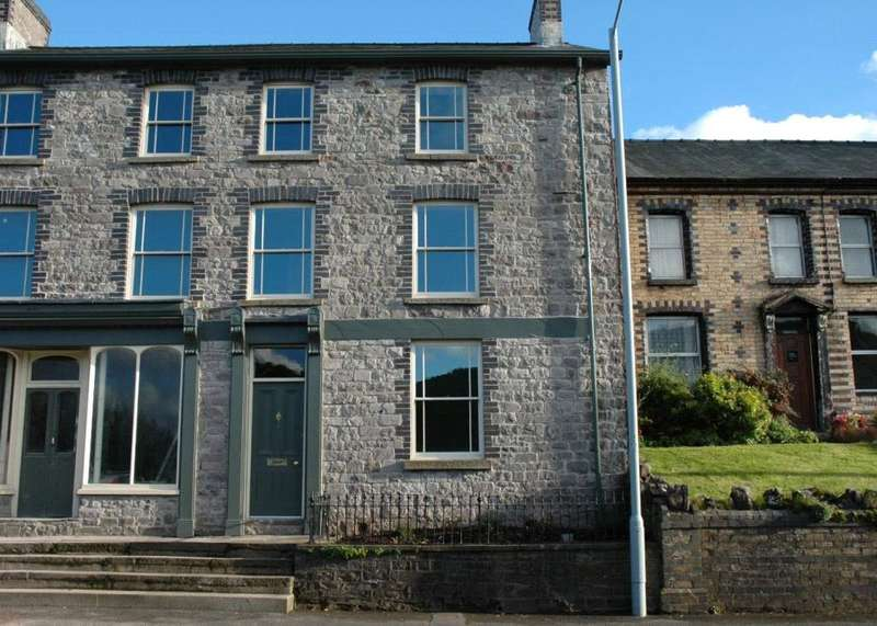 4 Bedrooms Terraced House for sale in High Street, Sennybridge, Brecon, Powys
