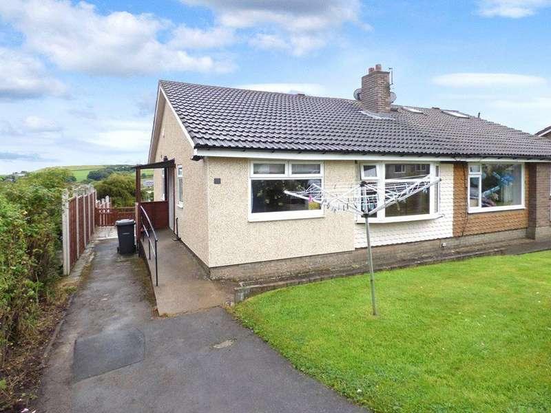 3 Bedrooms Semi Detached Bungalow for sale in Hornsea Drive, Wilsden, Bradford, West Yorkshire