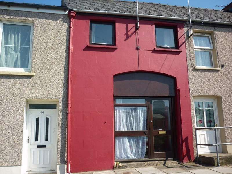 1 Bedroom Terraced House for sale in 96a Dew Street, Haverfordwest, Pembrokeshire