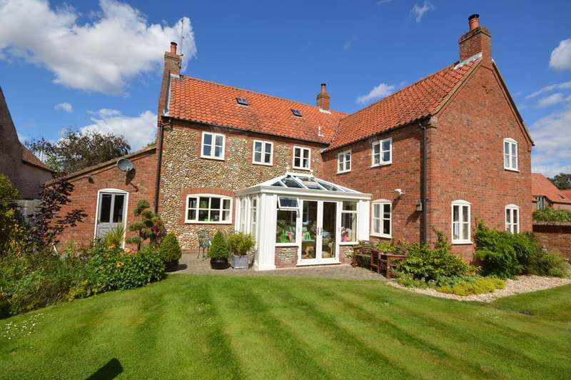 5 Bedrooms Detached House for sale in Green Farm Lane, Thursford, Norfolk