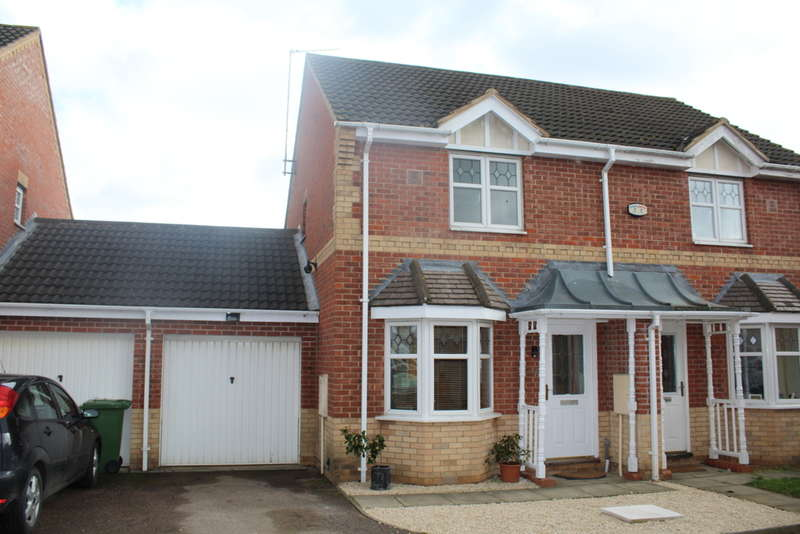 2 Bedrooms Semi Detached House for sale in Meadenvale, Parnwell, Peterborough